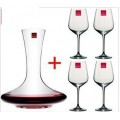 DW-4102 Wine Glasses and Decanter Set