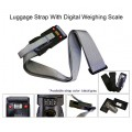 TR-1102 3-in-1 Luggage Strap with Digital Luggage Scale and Combination Lock
