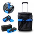 TR-1103 3-in-1 Luggage Strap with Combination Lock and Digital Scale